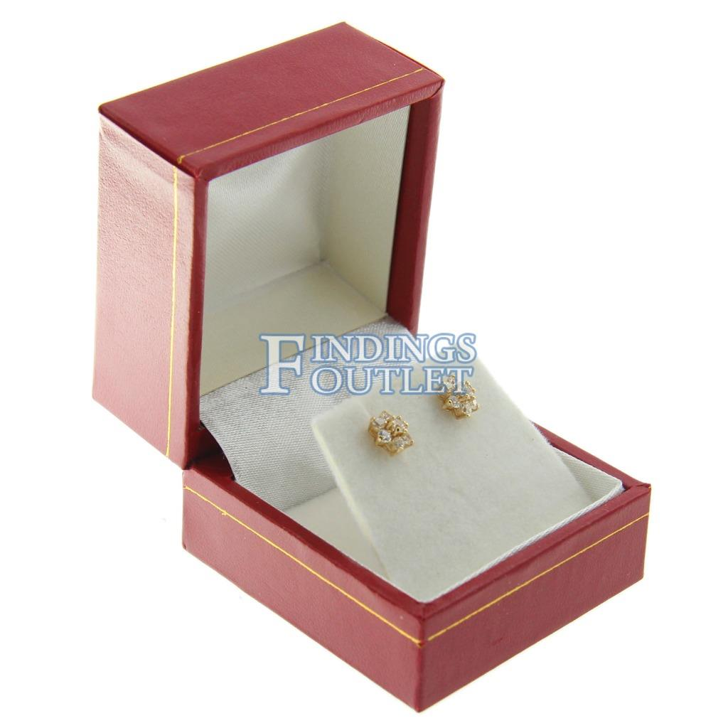 Classic Red Necklace Box for Necklace Gift Box Leatherette Red Box High Quality!