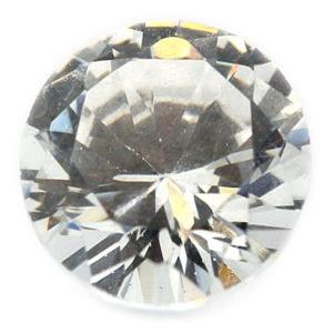 Loose Trillion Cut Clear CZ Stone Single Cubic Zirconia Birthstone Best Quality