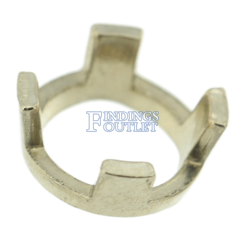 14ky Round 4-Double Prong 5.8mm Pendant Setting