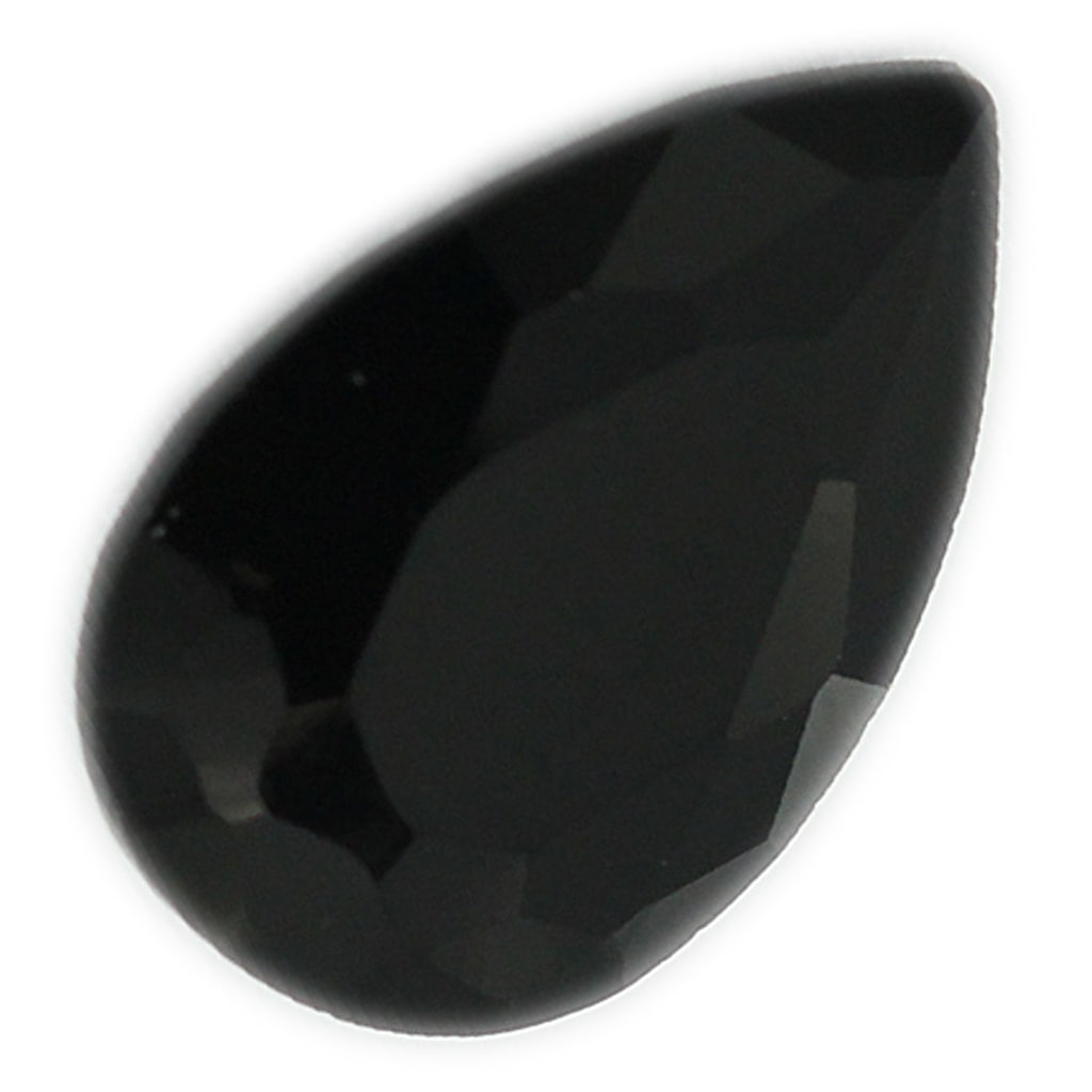 Details about  /Black Onyx Cabochon 11x7 Pear Shaped Loose Gemstone