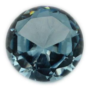 Loose Straight Baguette Cut Aquamarine CZ Stone Single Cubic Zirconia Birthstone