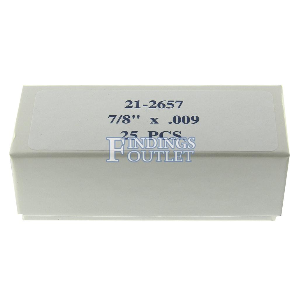 SEPARATING DISCS EXTRA THIN 7//8 X 0.006 PKG OF 25 PCS